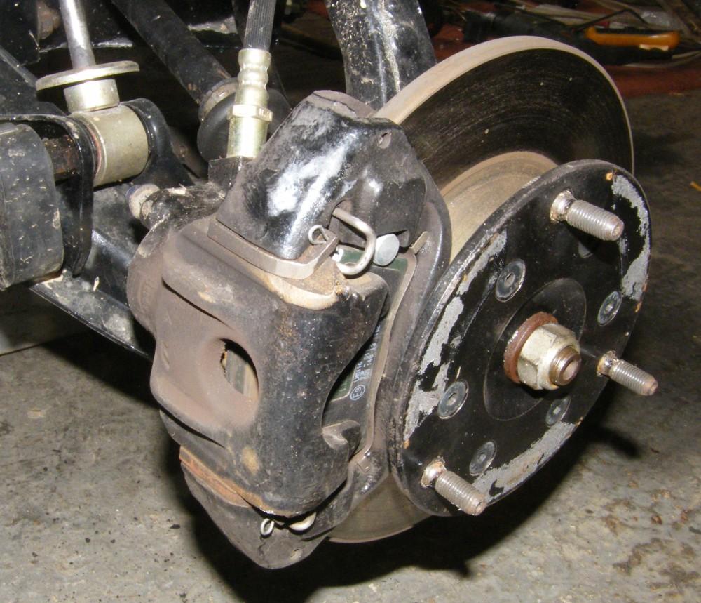 Brake Master Cylinder And Servo