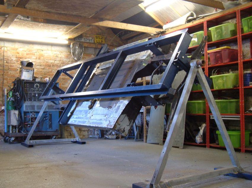 Gordini Restoration Chassis Jig
