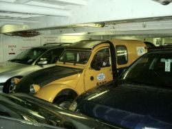 2cv on the channel ferry