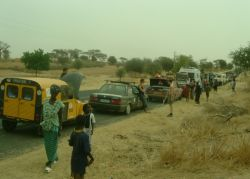 Across Senegal in convoy