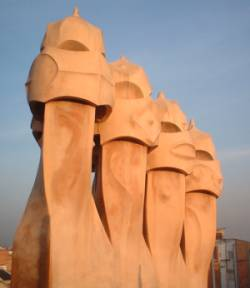 La Pegreda Chimneys