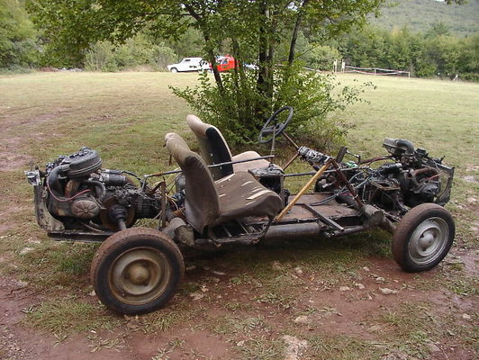 Citroen 2Cv For Sale >> Can one build a twin engine R4? | Renault 4 Forum