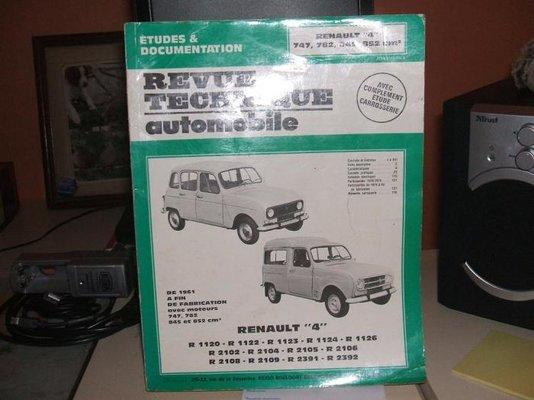1977 r4 tl restoration made in france