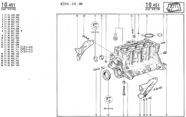 renault engine diagram renault r4 f6 from spain | renault 4 forum