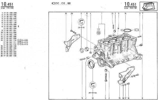 renault r4 f6 from spain | renault 4 forum renault engine diagram