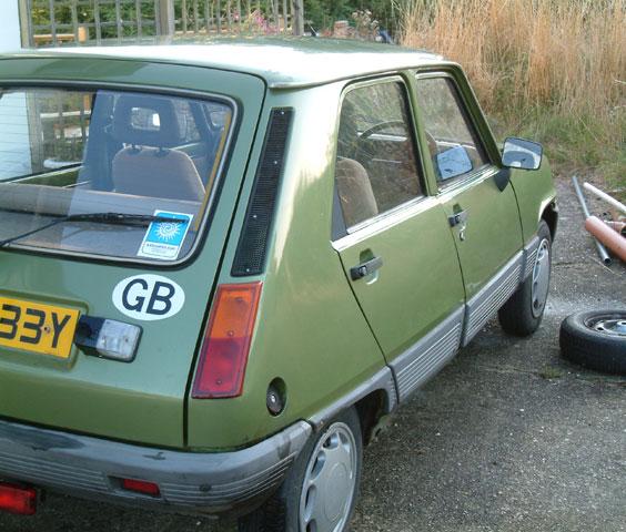 1982 Renault 5 GTL For Sale