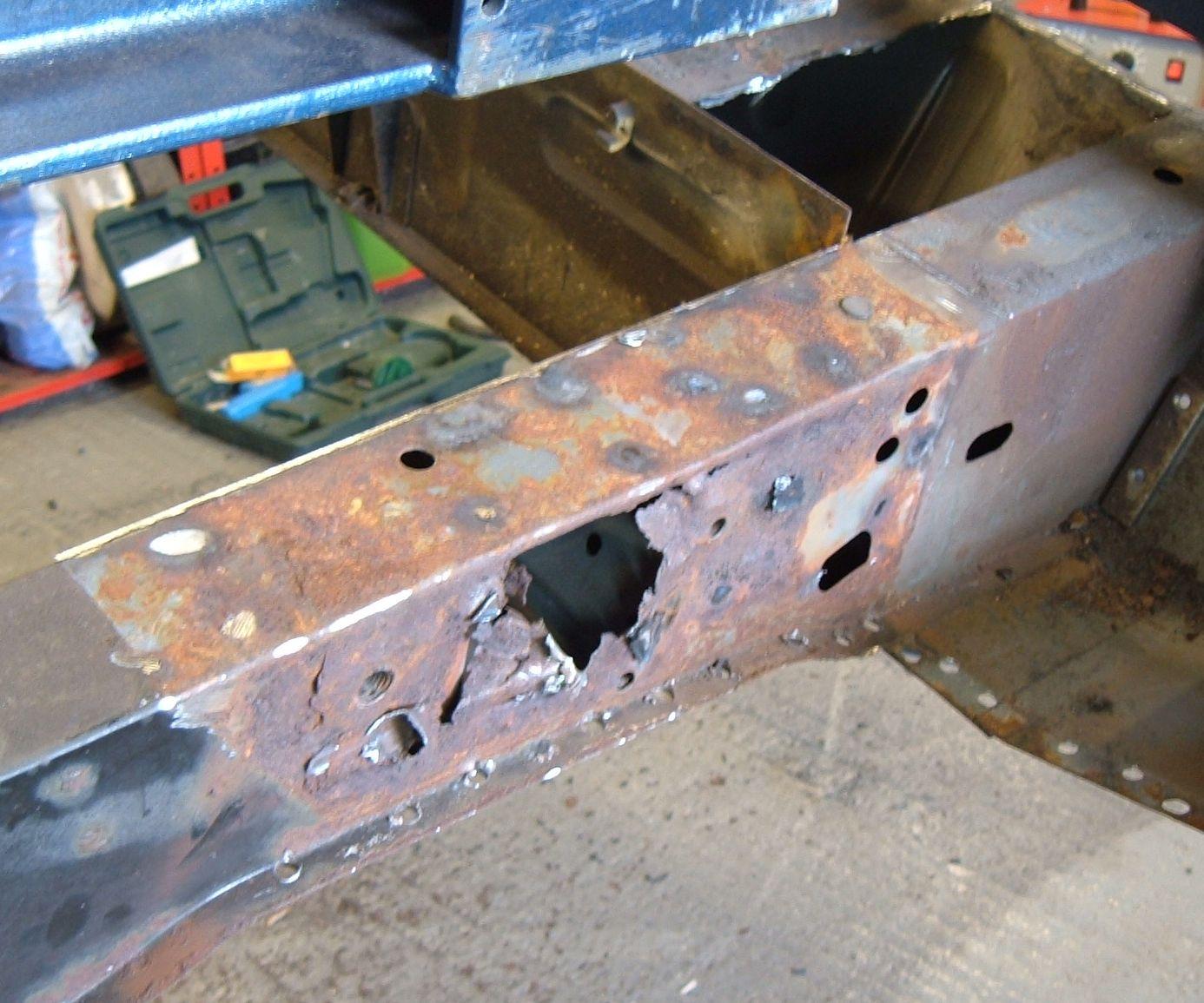 Inner Suspension Mounting Welding
