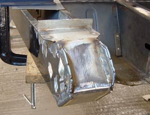 Seam welded mounting
