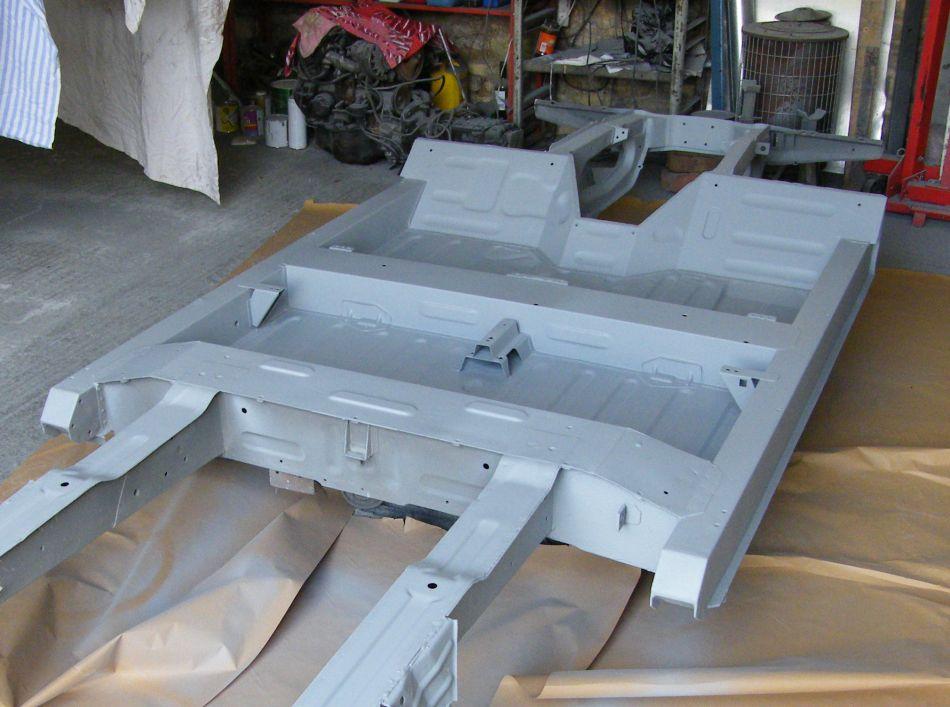 Chassis Paint - Sandblasting, Galvanising Primer, Anti