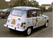 Florence the Renault 4 TL
