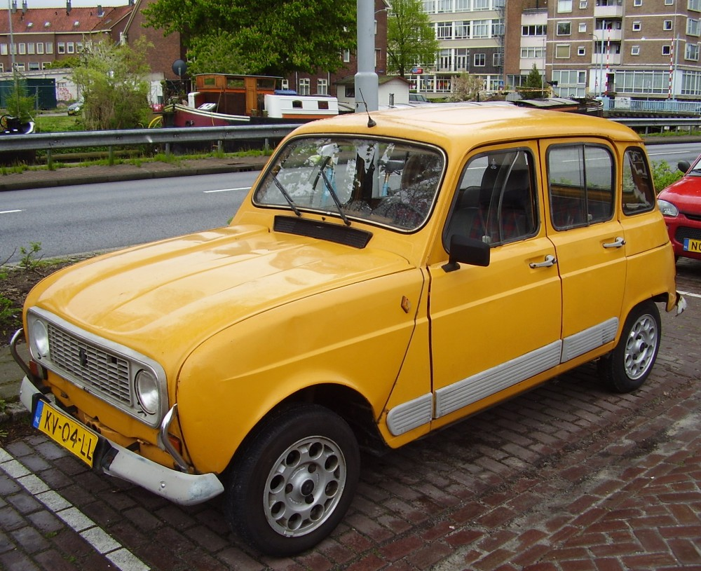 Renault Paint Codes - 60s,