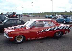 Vauxhall Victor drag racer