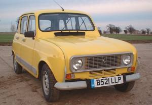 Shiny restored Renault 4