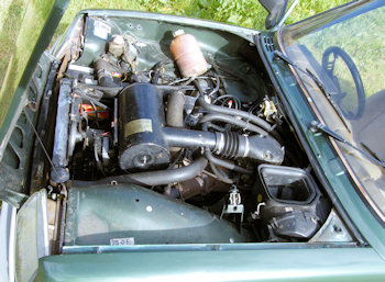 Renault 5 TX Engine
