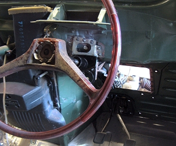 Steering column modifications